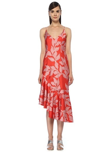 Patbo Plaj Elbisesi Kırmızı